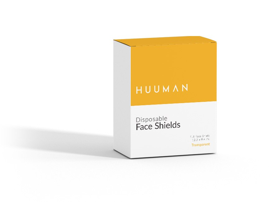 Box of Transparent Face Shields