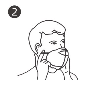 instructions for wearing kn95 face mask